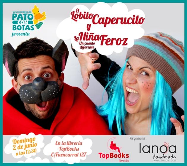Cartel_LobitoCaperucito_2junio