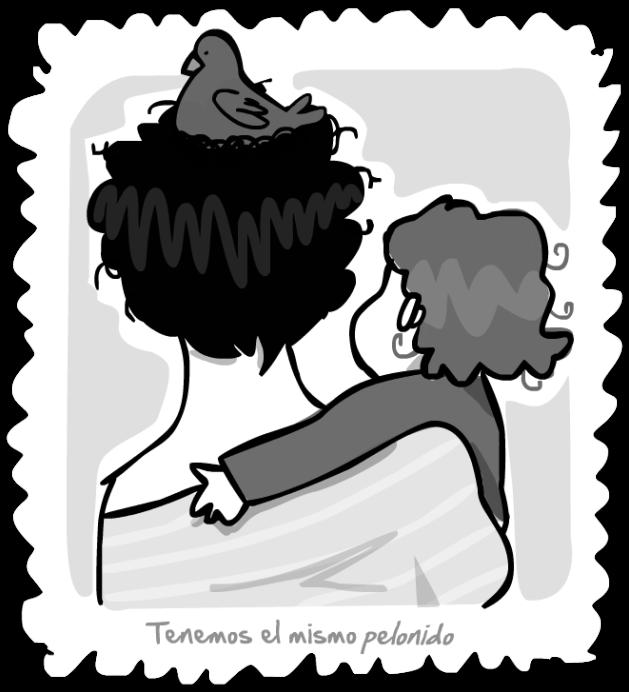 pelo de mama y mío