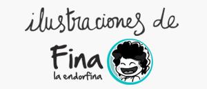 Ilustraciones de Fina La Endorfina